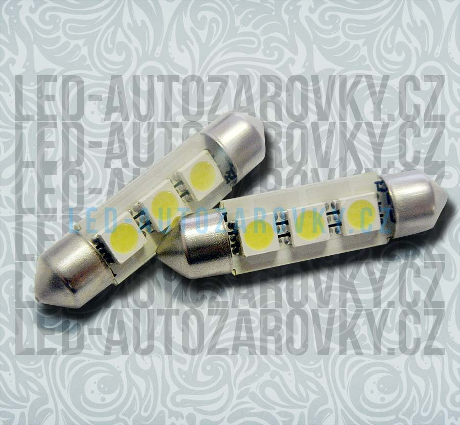 CAN-BUS sufitka bílá, 3 SMD LED, 39mm