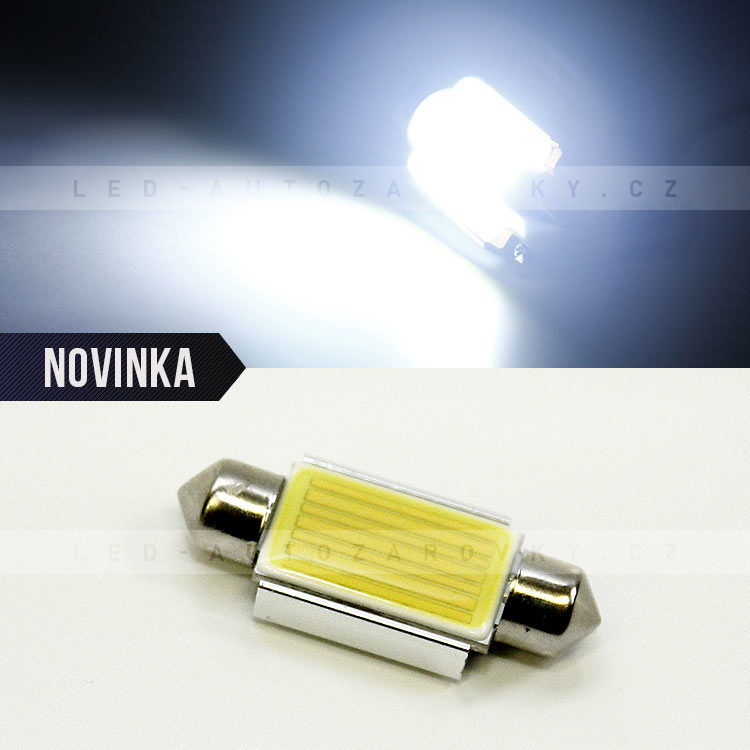 CAN BUS sufitka bílá - HIGH POWER SMD LED, 39mm