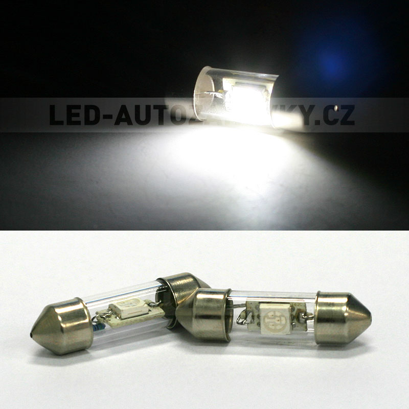 Sufitka bílá - Super Light, 1x SMD LED, 31mm